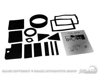 1964-1968 MUSTANG HEATER GASKET KIT