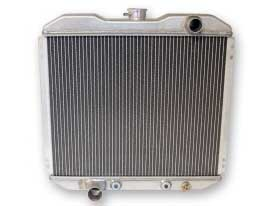 "1967-1969 MUSTANG 2 ROW HIPO ALUMINUM RADIATOR (Late Model 5.0, 302 & 351C, 20"")"