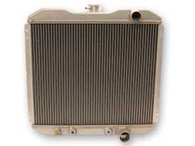 1967-1969 MUSTANG SMALL BLOCK 2 ROW ALUMINUM RADIATOR