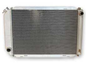 1981-1993 MUSTANG ALUMINUM 2 ROW 5 SPEED RADIATOR