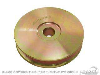 HI-PO ALT PULLEY YELLOW STEEL