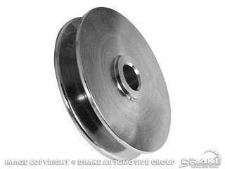 1964-1973 MUSTANG ALTERNATOR PULLEY SINGLE GROOVE