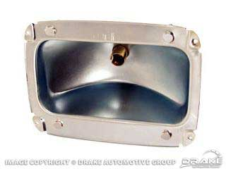 1965-1966 MUSTANG TAIL LAMP BODY
