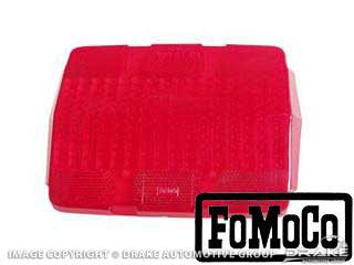 "1964-1966 MUSTANG ""FOMOCO"" TAIL LIGHT LENS"