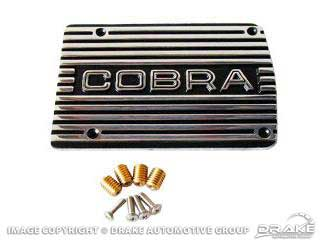 A/C COMPRESSOR COVER COBRA POLISHED