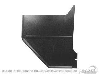 1964-1966 MUSTANG MOLDED KICK PANELS FOR SPEAKERS