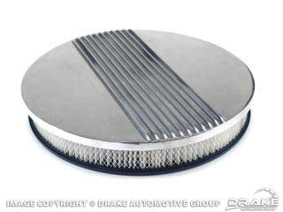 1964-1973 MUSTANG ALUMINUM FINNED AIR CLEANER