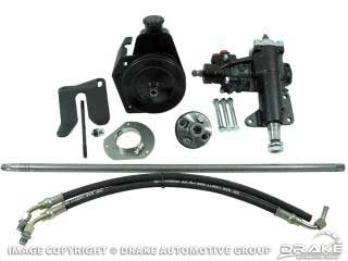 1964-1966 MUSTANG POWER STEERING CONVERSION KIT V8 MS TO PS