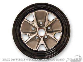 1964-1973 MUSTANG STYLED STEEL WHEELS
