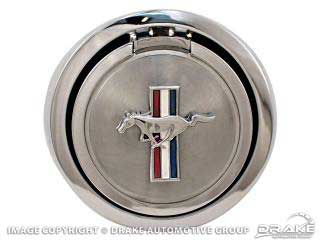 1967 MUSTANG DELUXE POP-OPEN GAS CAP