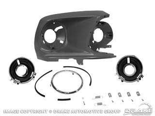1969 MUSTANG HEADLAMP ASSEMBLY (LH OR RH)