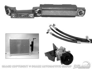 1969-1970 MUSTANG HURRICANE HEATER/AC KIT (CLON)