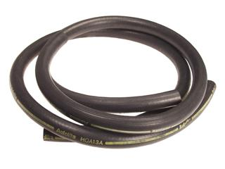 1970-1973 MUSTANG HEATER HOSE YELLOW STRIPE