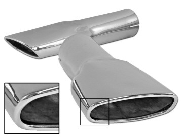 1970 MUSTANG MACH 1 EXHAUST TIPS