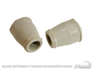 1964-1973 MUSTANG SUN VISOR  RUBBER TIPS