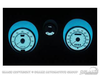 1971-1973 MUSTANG LUMINESCENT PANELS W/TACH