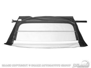 1971-1973 MUSTANG CONVERTIBLE TOP REAR GLASS WHITE