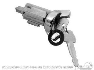 1973 MUSTANG IGNITION CYLINDER AND KEY