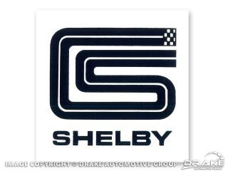 "3"" SHELBY SQUARE DECAL"