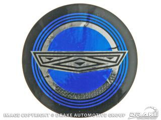 1965-1967 MUSTANG WIRE WHEEL BLUE CENTER