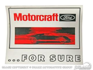 "6"" MOTORCRAFT FOR SURE GT40"