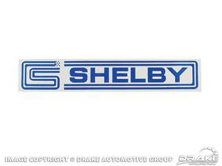 1964-1973 MUSTANG SHELBY DECAL