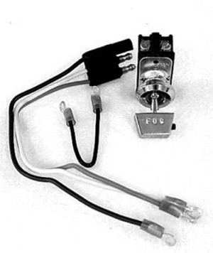 1965-1966 MUSTANG FOG LIGHT SWITCH