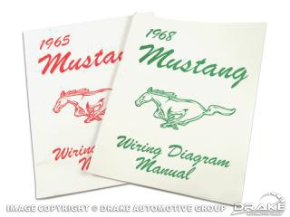 1964-1973 WIRING DIAGRAM MANUALS