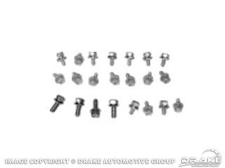 1967-1970 390, 427 & 428 OIL PAN BOLT KIT