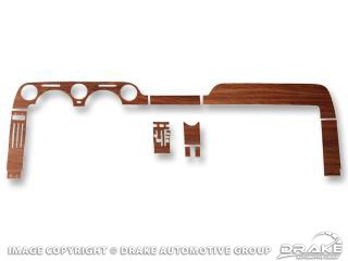 1968 DASH WOOD GRAIN KIT
