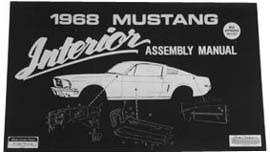 1964-1972 MUSTANG INTERIOR TRIM ASSEMBLY MANUAL