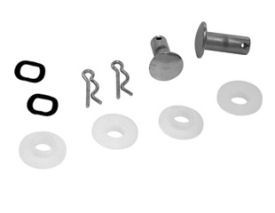 1964-1968 MUSTANG CONVERTIBLE TOP CHROME CLEVIS PIN KIT