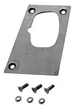 1967-1968 MUSTANG DOOR LATCH REPAIR PANEL