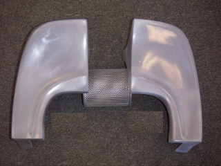 1965-1966 COUPE/FASTBACK SPOILER DECK LID EXTENSION (LEFT OR RIGHT)