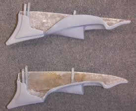 1968 QUARTER PANEL EXTENSION FOR STOCK PANEL(LEFT OR RIGHT) SIDE
