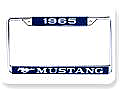 1965  MUSTANG YEAR DATED LICENSE PLATE FRAME