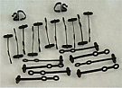 1965-1966 MUSTANG WIRE LOOM CLIP KIT
