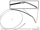 1970-1973 MUSTANG REAR EMERGENCY BRAKE CABLE (8 CYL.)