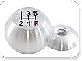1964-1966 MUSTANG BILLET 5 SPEED SHIFT KNOB (SATIN, 12 X 1.75)