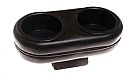 1971-1973 MUSTANG PLUG & CHUG HOLDER BLACK