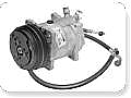 1966 MUSTANG SANDEN COMPRESSOR CONVERSION KIT (289, R134A)