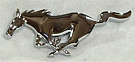 1994-2004 MUSTANG CHROME RUNNING GRILLE HORSE EMBLEM