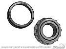 1970-1973 MUSTANG OUTER WHEEL BEARING & RACE