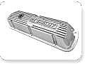 1964-1985 SHELBY POLISH ALUMINUM VALVE COVERS