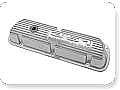 1964-1985 MUSTANG 351 POLISH ALUMINUM VALVE COVERS