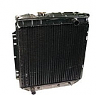 1969-1970 MUSTANG 4-CORE RADIATOR  (250,302,351 w/o Air)