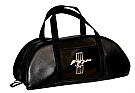 1964-1973 MUSTANG LARGE BLACK TOTE BAG W/EMBLEM
