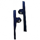 1965-1966 MUSTANG  SIDE RAILS WITH SHOCK TOWER COVERS