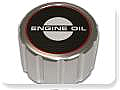 1965-1968 MUSTANG OIL CAP (BILLET, PUSH ON)