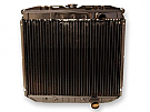 1967-1969 MUSTANG SMALL BLOCK 3 ROW HI-FLOW RADIATOR WITHOUT A/C
